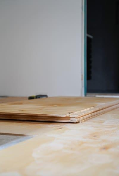 lattia-asennuksen tarvikkeet
